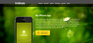 Iridium WordPress Template Is a Business Telated Theme For Android and Ios App Site
